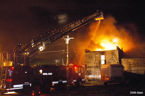 Multiple Alarm Fire